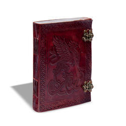 Double Latch Leather Cover Journal