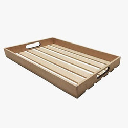 Rectangular Wooden Serving Tray