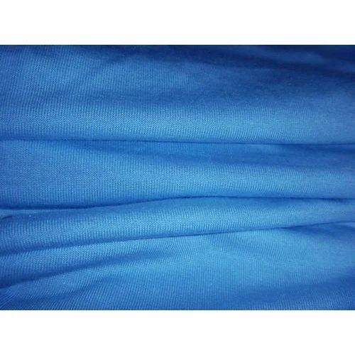d1ca1873cb0 Plain Blue Single Jersey Fabric, GSM: 150-200, Rs 300 /kilogram | ID ...