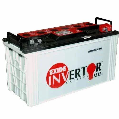 Exide Inverter Battery Model No In1000 Plus Rs 9000
