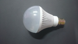 White Round LED Bulb