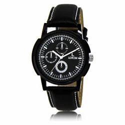 Black Dummy Chronograph Watch, LR0013