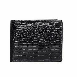Black Croco Prints Wallet
