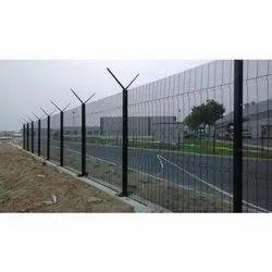 Galvanized Iron Anti Climbing Mesh Fencing