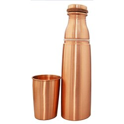 Copper Glass Bottle