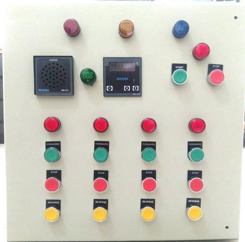 Selfdesigned Mild Steel sheet Temperature Control Panel, IP Rating: IP44