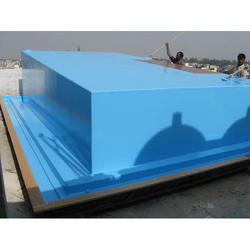 FRP Swimming Pool for Hotels, Height: 1-1.5 feet