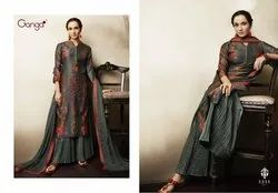 chanderi party wear suit