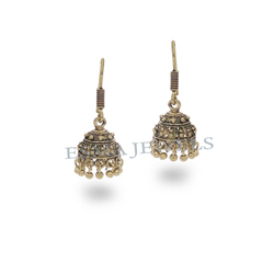 Antique Copper Plating Jhumki