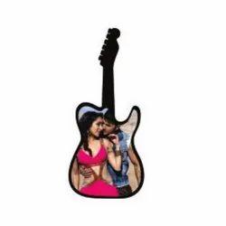 Guitar Sublimation Desktop Frame