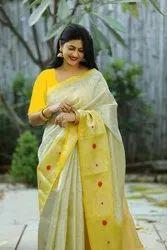 Red Soft Silk Sarees