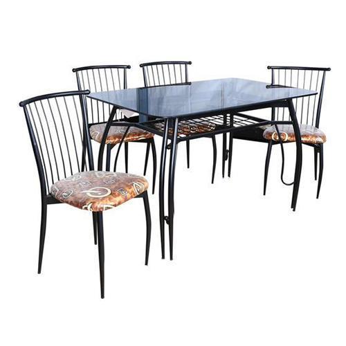 Wrought Iron Dining Table Set