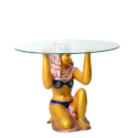 Egyptian Lady Look Center Table