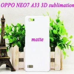 White Plastic Mobile Sublimation Cover