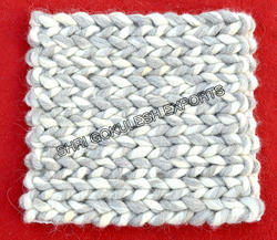 SGE Same As Picture Knitted Wool Rugs