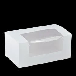 Detpak 7 & 10 Inch Long Patisserie Box