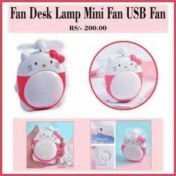 ABS Pink usb fan, Good, Size: Medium