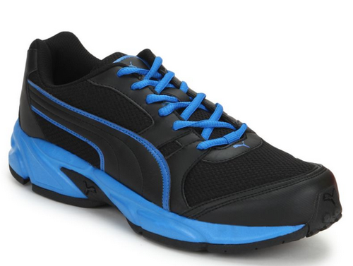 eed85ce0028b Men Puma Strike Fashion II IDP Black Running Shoes