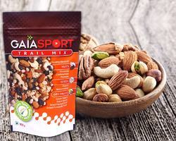 Gaia Sport Trail Mix Packaging