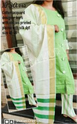 Ipsa 042 Cotton Jacquard Designer Kurti