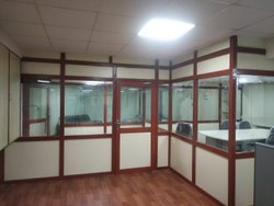 Wooden / Aluminum Partition