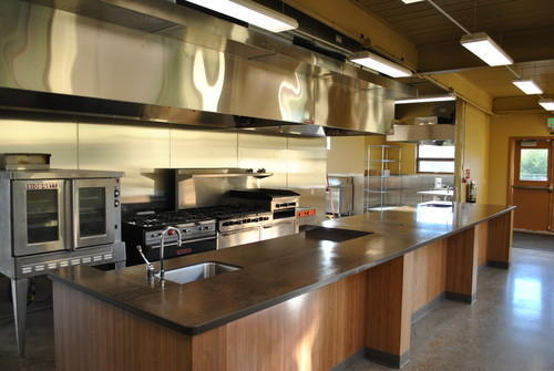 Commercial Kitchen Interior