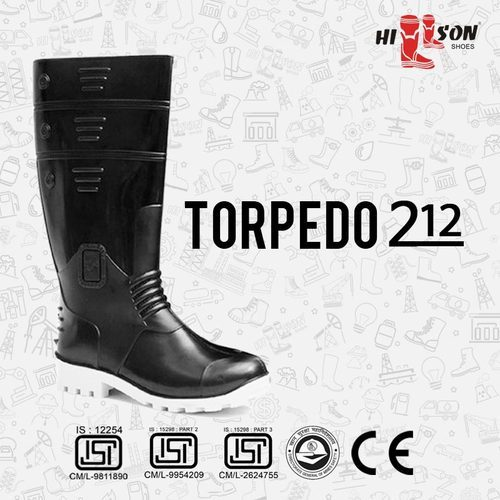 95b1f467cb6 Torpedo 212 Isi Marked Steel Toe Safety Boots