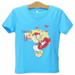Cotton Kids Printed T Shirt