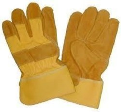 Plain Safety Gloves