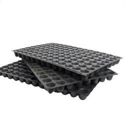 HIPS Black Seedling Trays, Thickness: 0.8 Mm To 1.2 Mm