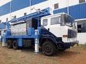 Truck Mounted Borewell Drilling Machine With 300 Meters