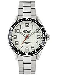 Omax Stainless Steel Watch for Men