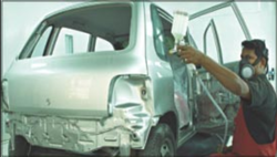 Car Collision Repair And Painting
