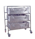Guinea Pig Pans and Trolley