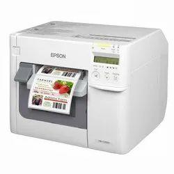 Thermal Printers Inkjet Epson Tmc 3510 Colour Printer, USB, Speed: 300-400 Meter per hour