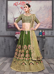 Lowest Prices Designer Silk Lehenga Cholis for Wedding Function