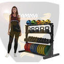 4 Tier Dumbbell Rack