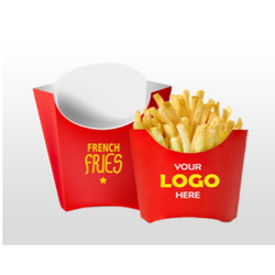 French Fries Packaging Box