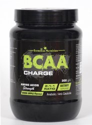 Estrellas BCAA green apple flavour Boost Energy BCAA Powder, 300 gm