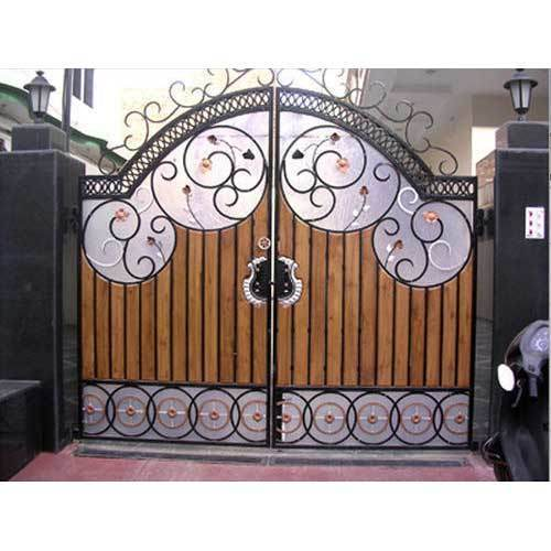 Outdoor Wrought Iron Gate At Rs 1200 Square Feet Wrought Iron