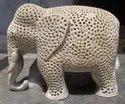 Soap Stone Craved Elephants