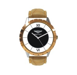 Leather Strap Hand Watch