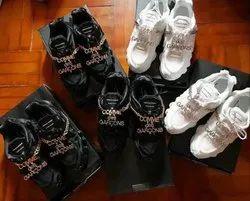 Black & White Men Nike Shox X Comme Des Garcons
