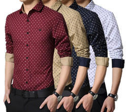 Satin Printed Shirt
