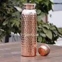 Stygian Hammered Pure Copper Bottle