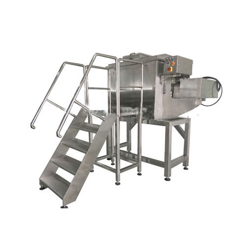 Orchid It is made of stainless steel 304 /316L. Chemical Ribbon Blenders, Capacity: 200L-10000L