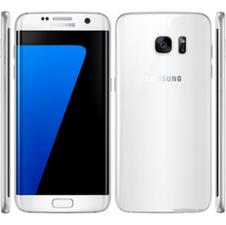Samsung White and Pink And Blue galaxy s7 edge