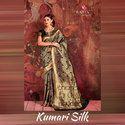 Zari Rajtex Kumari Silk Saree, 6 M (with Blouse Piece)