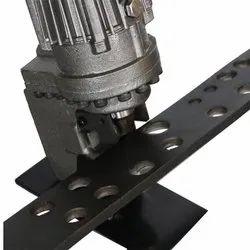 Mild steel hole punching machine