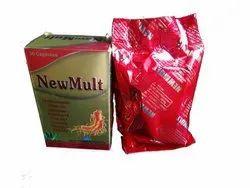 Multivitamins Minerals Selenium Amino Acids Aloe Vera Ginseng Omega-3 Fish Oil Capsules